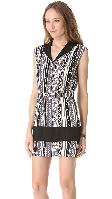 Viva Vena! by Vena Cava Dust Bowl Sleeveless Shirtdress