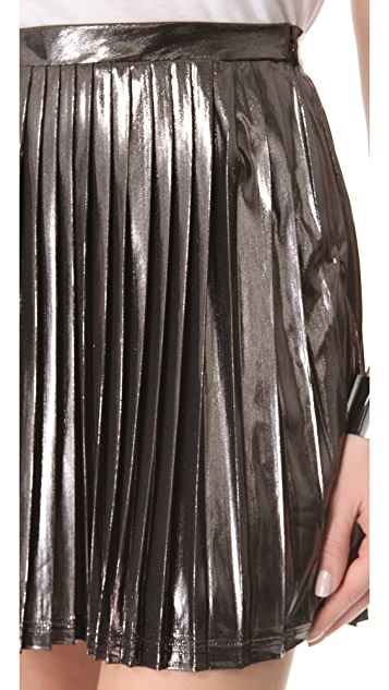 Viva Vena! by Vena Cava Pleated Skirt