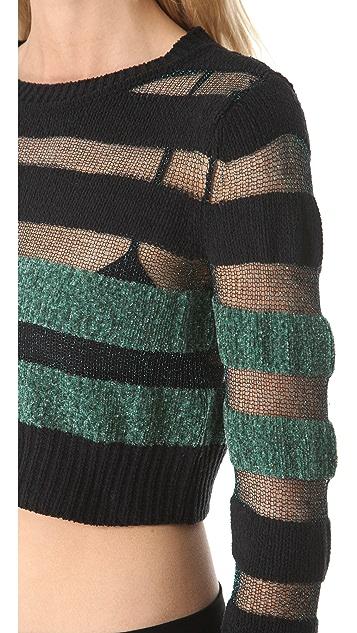 Viva Vena! by Vena Cava City Life Cropped Sweater