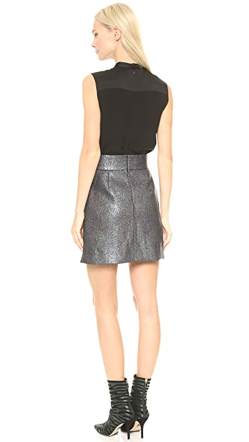 Victoria Victoria Beckham Sleeveless Button Up Dress