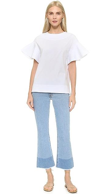 Victoria Victoria Beckham Расклешенные джинсы Kick
