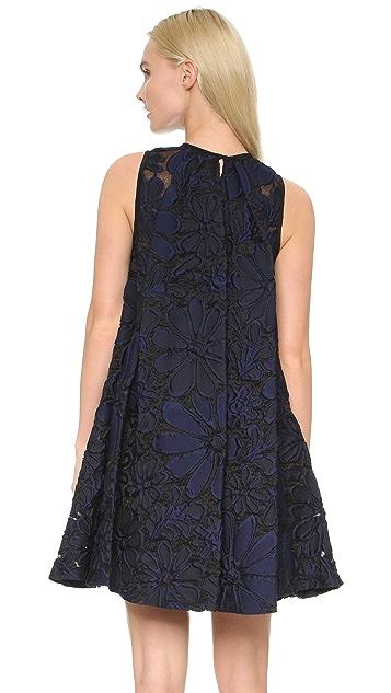 Victoria Victoria Beckham Pleat Back Dress