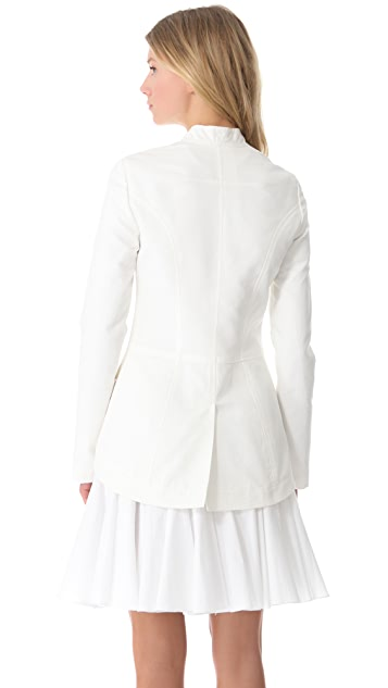 Vera Wang Collection Cut Away Jacket
