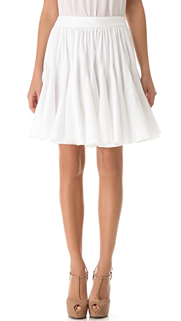 Vera Wang Collection Parasol Skirt