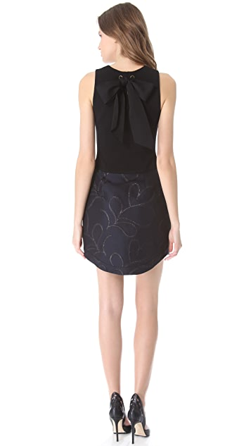 Vera Wang Collection Dress with Tulip Skirt