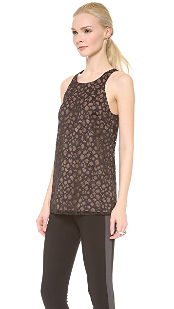 Vera Wang Collection Crewneck Tank Top