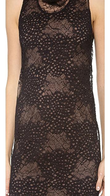 Vera Wang Collection Lace Tank Shift Dress