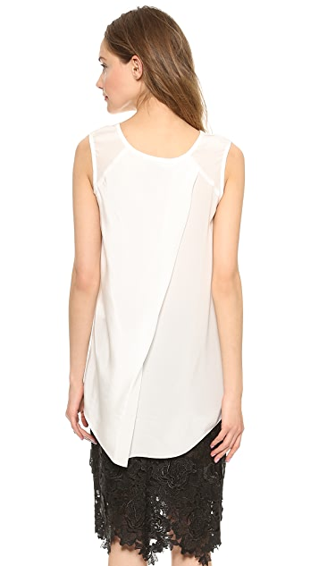 Vera Wang Collection Sleeveless Blouse
