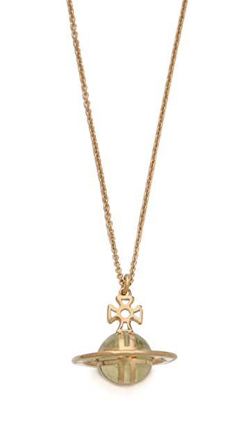 Vivienne Westwood Pilque a Jour 3D Pendant Necklace