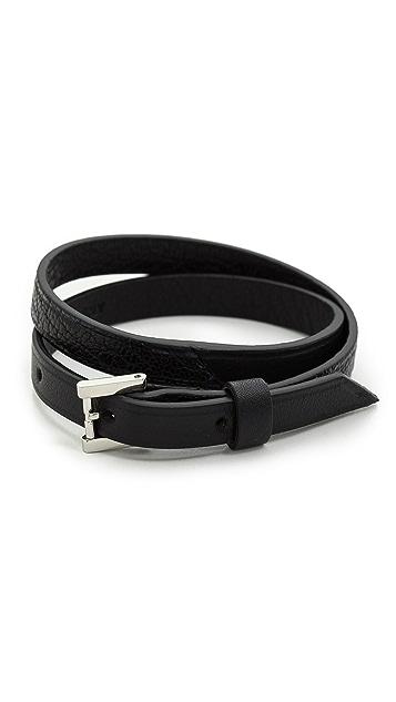 WANT LES ESSENTIELS Vantaa Tone Buckle Bracelet