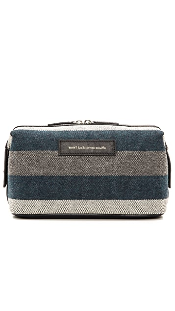WANT Les Essentiels Blanket Stripe Travel Kit