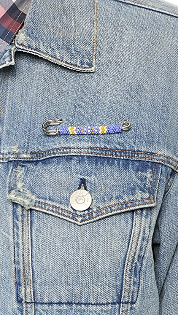 Warhorse Workshop Beaded Pin