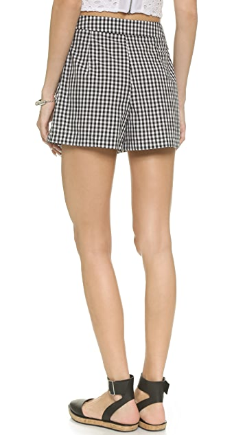 WAYF Gingham Shorts