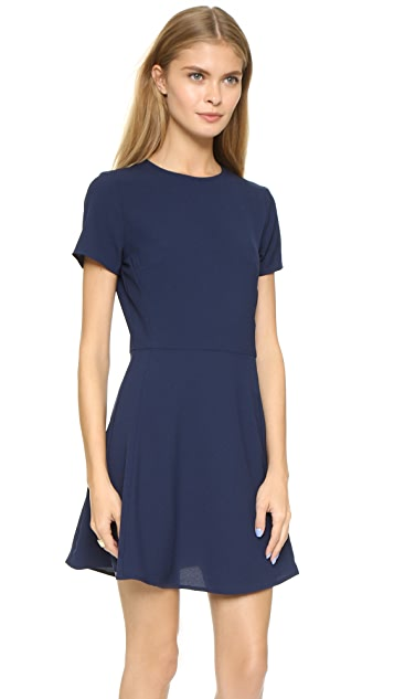 WAYF Short Sleeve Dress