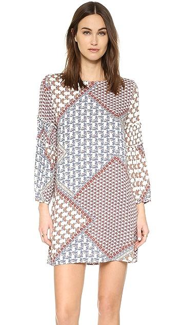 WAYF Ruffle Sleeve Dress