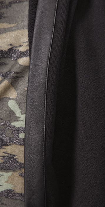 Wayne Hooded Loose Sweat Jacket
