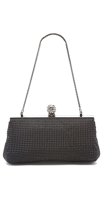 Whiting & Davis Crystal Classics Clutch