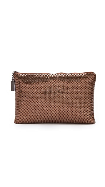 Whiting & Davis Flat Clutch