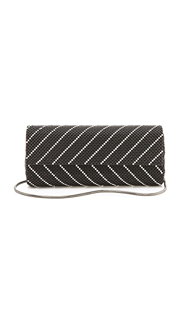 Whiting & Davis Fold Over Chain Mail Clutch