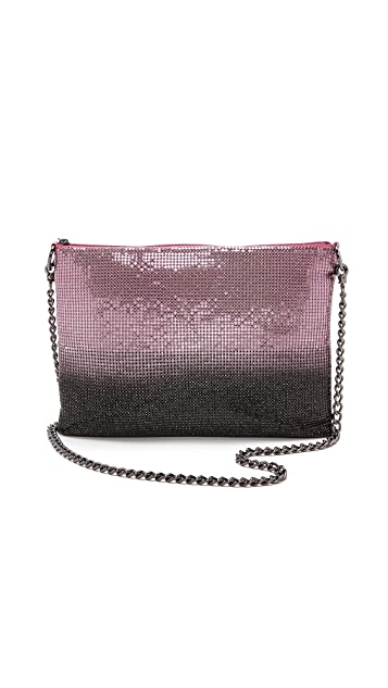 Whiting & Davis Ombre Cross Body Bag