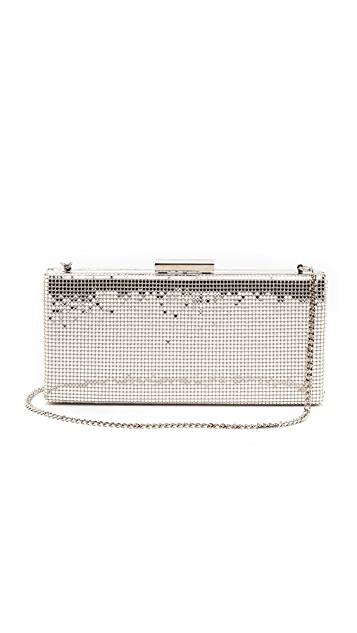 Whiting & Davis Slim Frame Clutch