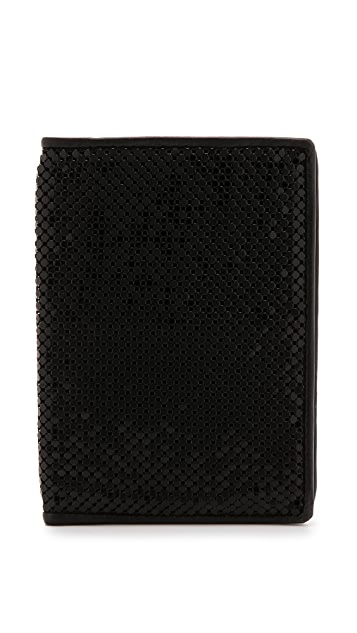 Whiting & Davis Passport Cover