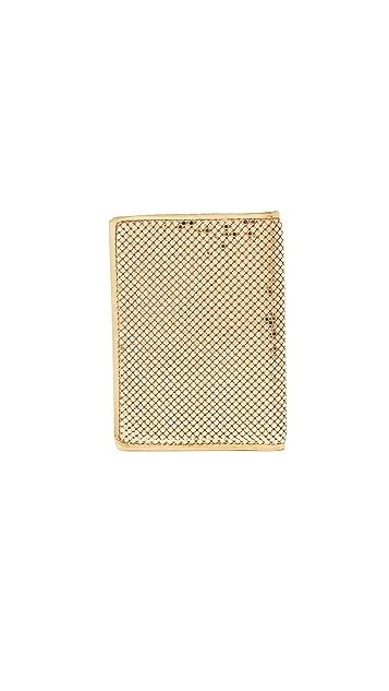 Whiting & Davis Passport Cover