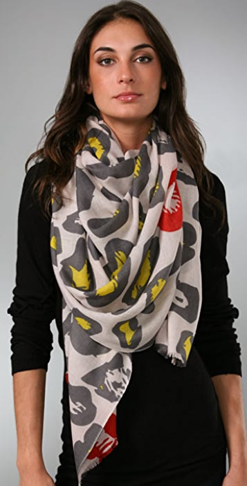 we are owls Cheetah Scarf