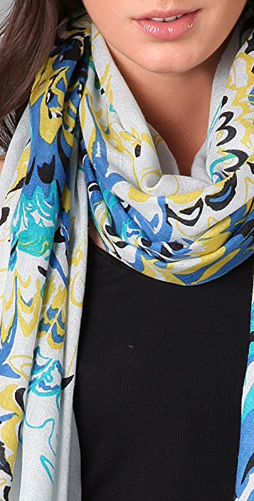 we are owls Waves Scarf