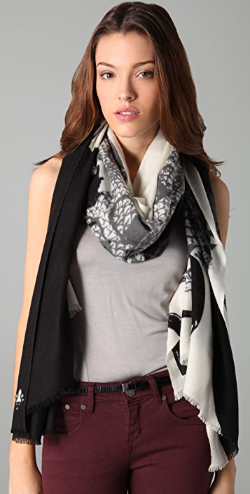 we are owls Snake Charmer Scarf