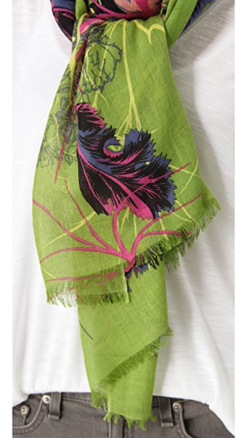 we are owls Flourishes Scarf