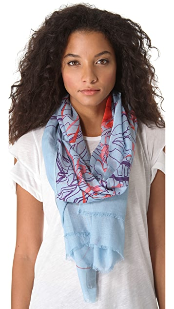 we are owls Telsa Scarf