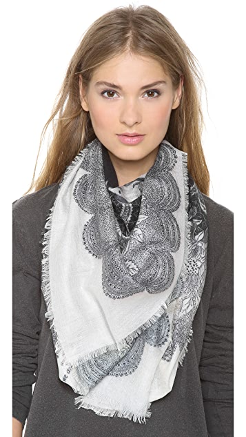 we are owls Nocturnal Cashmere Scarf