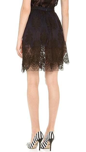 Wes Gordon Gathered Skirt