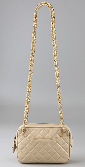 WGACA Vintage Vintage Chanel Double Chain Bag