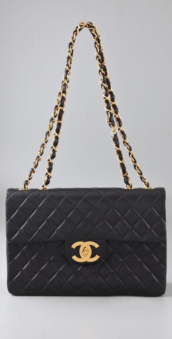 db7df215659c WGACA Vintage Vintage Chanel Jumbo CC Lock Bag | SHOPBOP