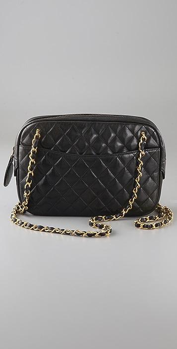 WGACA Vintage Vintage Chanel Double Chain Bag