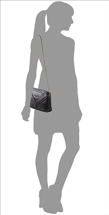 WGACA Vintage Vintage Chanel X Pattern Bag