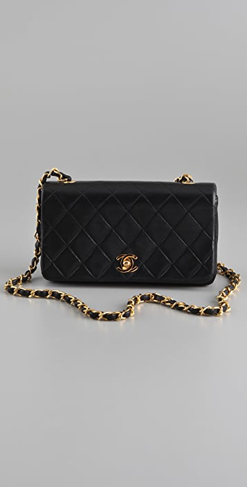 WGACA Vintage Vintage Chanel Classic Quilted Bag  cd09345438b5b