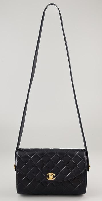 WGACA Vintage Vintage Chanel CC Leather Bag