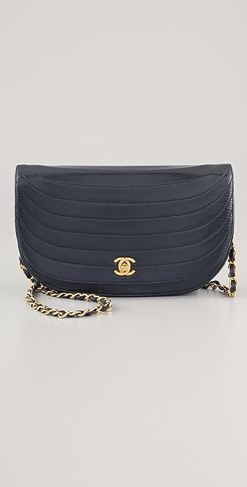 84a184dc1610 WGACA Vintage Vintage Chanel Half Moon Bag | SHOPBOP