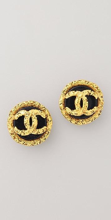 Vintage Chanel Byzantine Earrings
