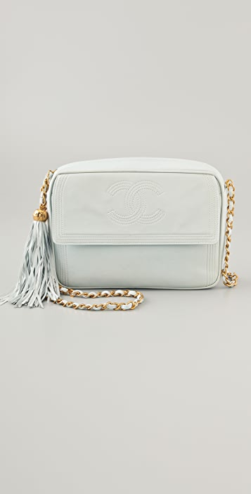 9bd28a3e8bddc3 WGACA Vintage Vintage Chanel CC Camera Bag with Tassel | SHOPBOP