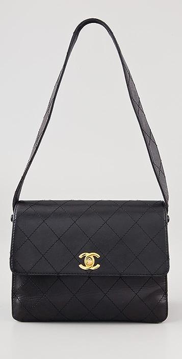 WGACA Vintage Vintage Chanel Quilted Handbag