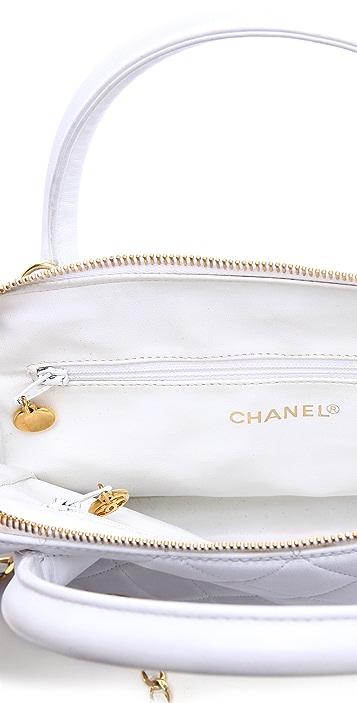WGACA Vintage Vintage Chanel Quilted Satchel