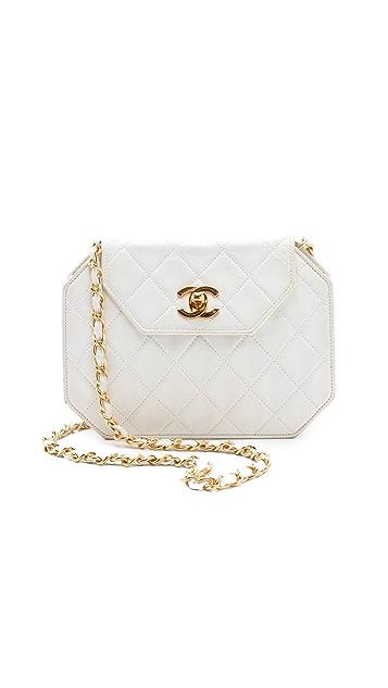 WGACA Vintage Vintage Chanel Octagon Handbag