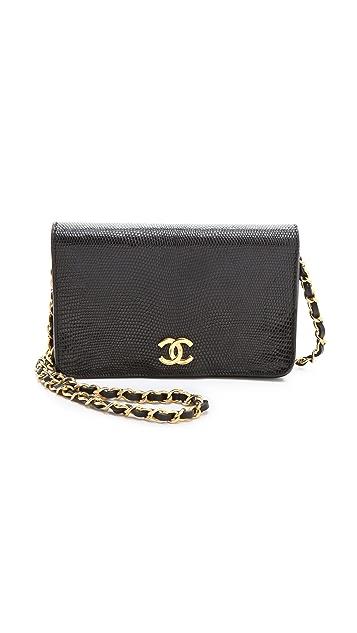 WGACA Vintage Vintage Chanel Lizard Handbag