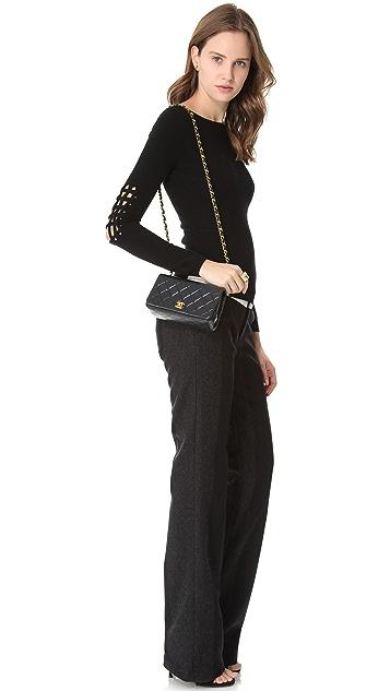 WGACA Vintage Vintage Chanel Classic Flap Bag