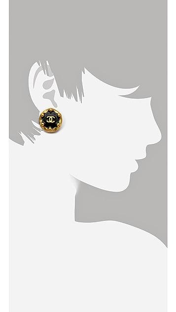 WGACA Vintage Vintage Chanel Ball Earrings