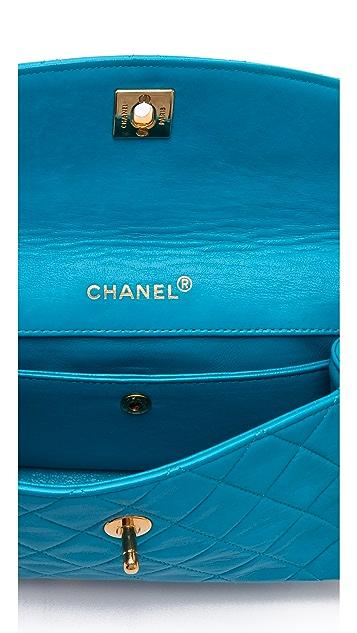 WGACA Vintage Vintage Chanel Trimmed Bag